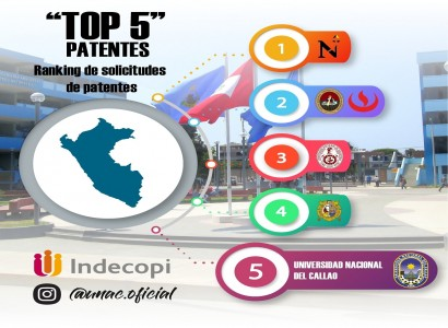 TOP 5 PATENTES
